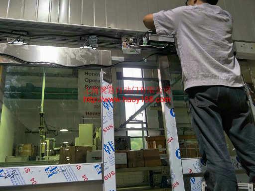 有框不锈钢自动门